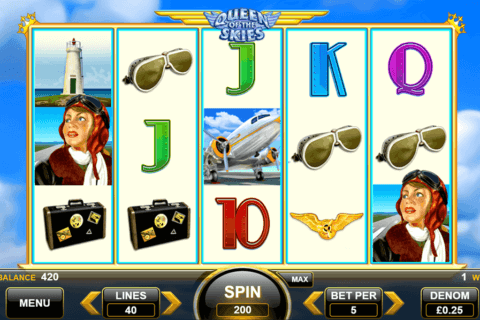 QUEEN OF THE SKIES SPIN GAMES CASINO SLOTS