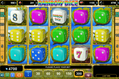 RAINBOW DICE EGT CASINO SLOTS