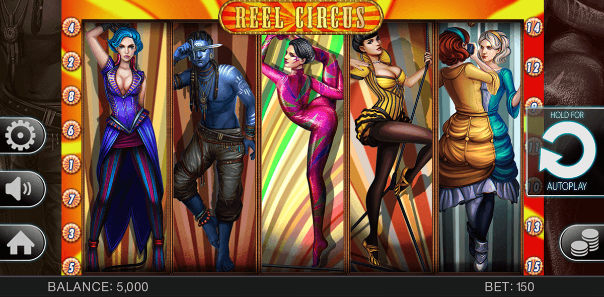 Spiele Reel Circus - Video Slots Online