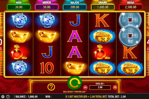 REEL RICHES FORTUNE AGE WMS CASINO SLOTS