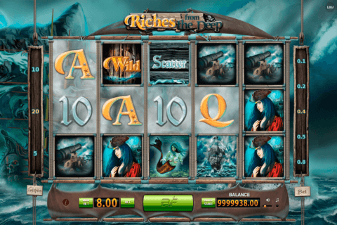 RICHES FROM THE DEEP BF GAMES CASINO SLOTS