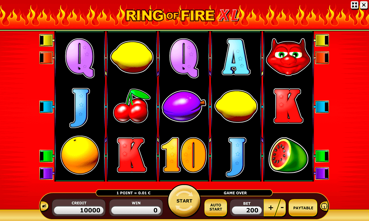 Ring of Fire XL Slots - Play this Kajot Casino Game Online