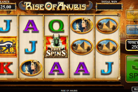 RISE OF ANUBIS INSPIRED GAMING CASINO SLOTS