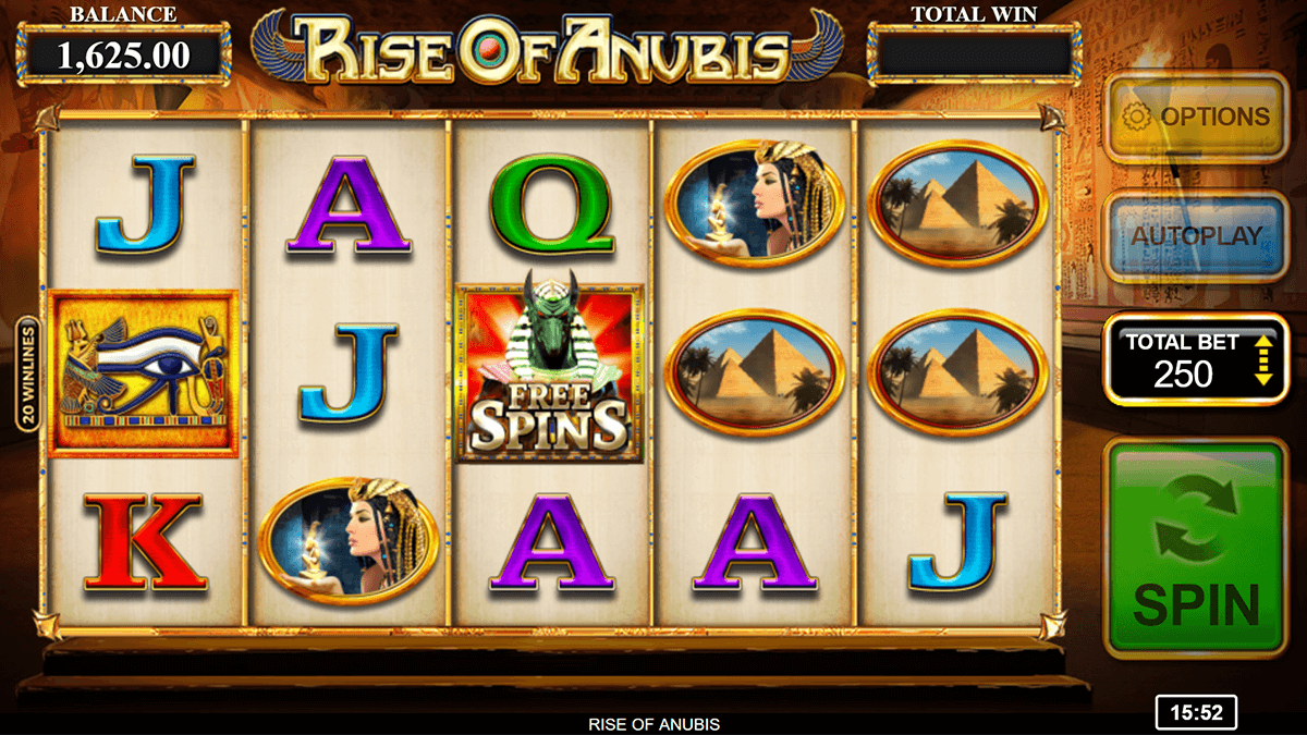 Anubis™ Slot Machine Game to Play Free in iGaming2gos Online Casinos