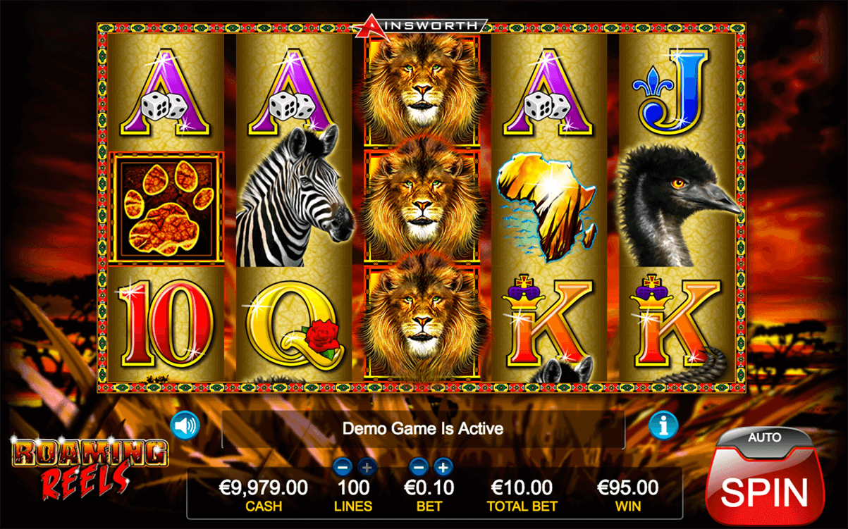 Roaming Reels Slots - Free Slot Machine Game - Play Now