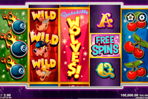 ROCKABILLY WOLVES MICROGAMING CASINO SLOTS