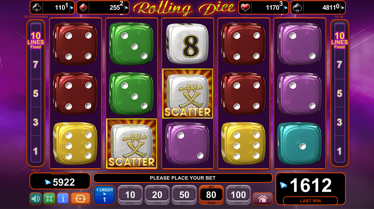 Rolling Dice Slots - Play Penny Slot Machines Online