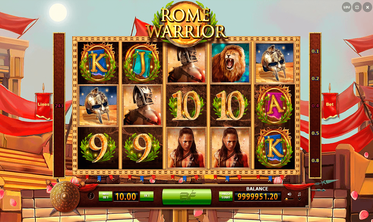 Wild Warrior Slot Machine - Play Real Casino Slots Online