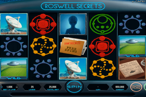 ROSWELL SECRETS CAPECOD GAMING CASINO SLOTS