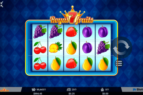 royal 7 fruits mrslotty casino slots