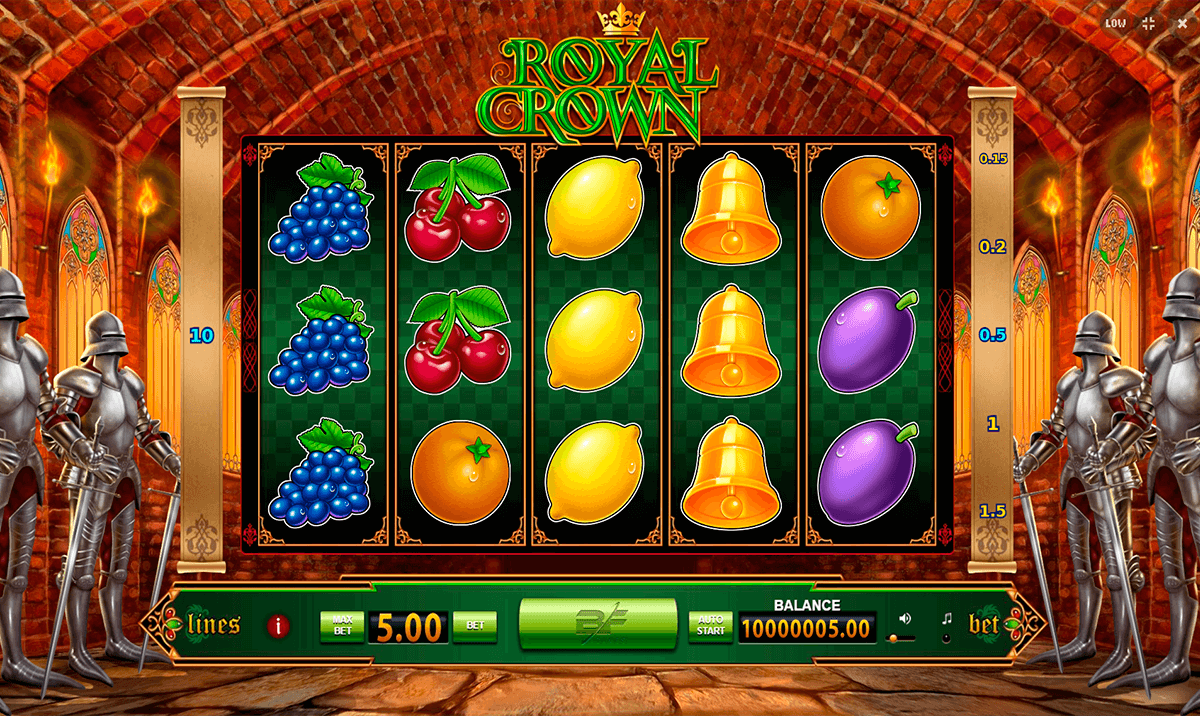Jewel in the Crown slot offers a royal game experience