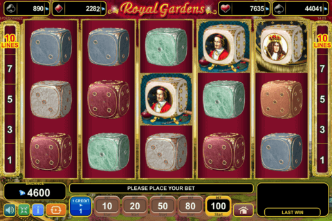 ROYAL GARDENS EGT CASINO SLOTS