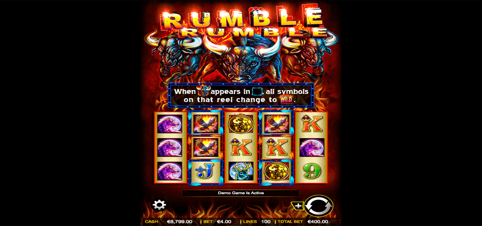 Jungle Rumble Slots - Play Real Casino Slot Machines Online