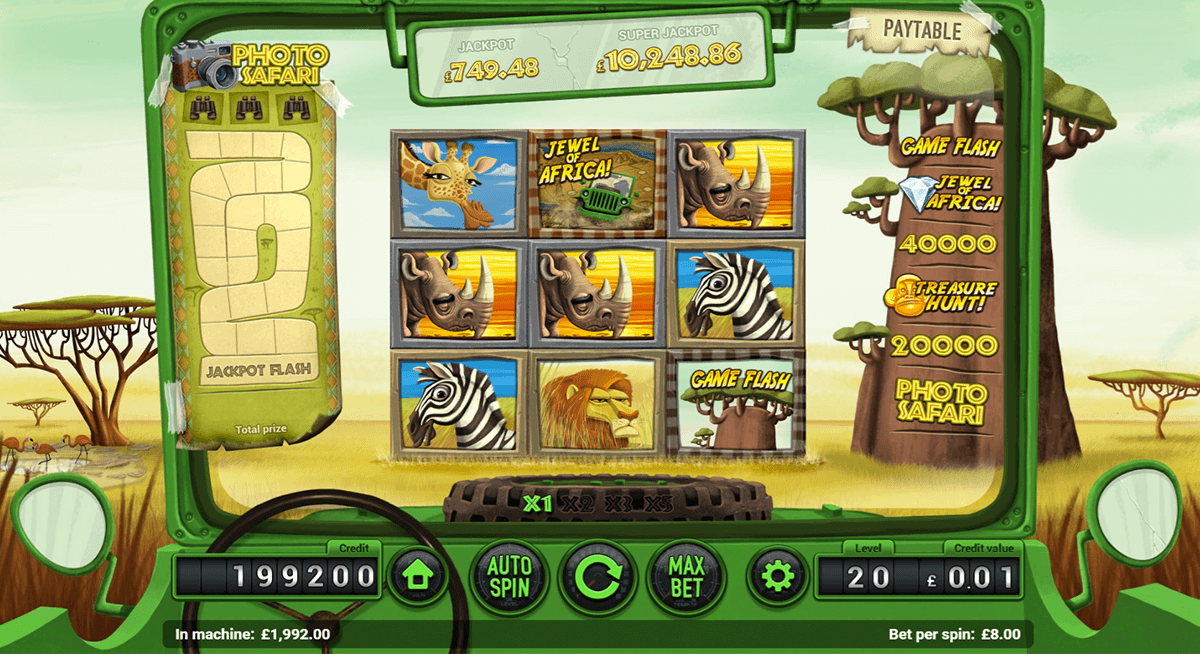 Safari Slot - Play Free Magnet Gaming Games Online