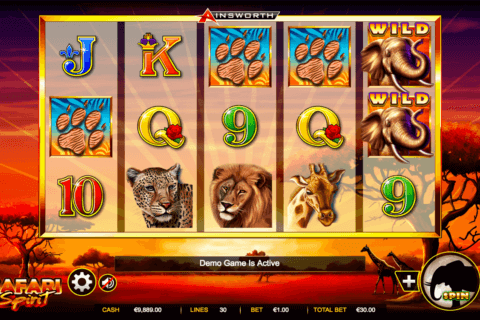 SAFARI SPIRIT AINSWORTH CASINO SLOTS