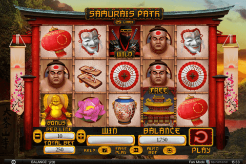 SAMURAI PATH SPINOMENAL CASINO SLOTS