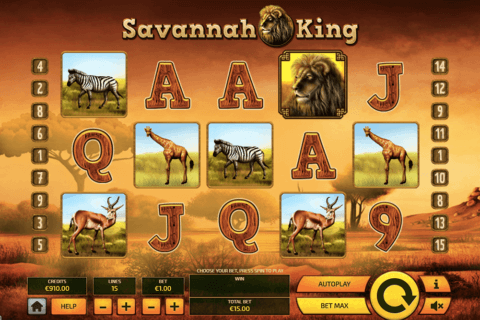 SAVANNAH KING TOM HOR CASINO SLOTS