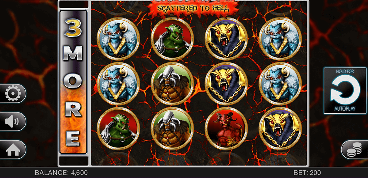 SCATTERED TO HELL SPINOMENAL CASINO SLOTS
