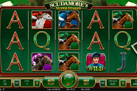 SCUDAMORES SUPER STAKES NETENT CASINO SLOTS