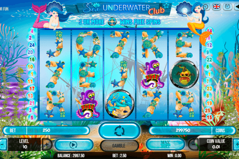 SEA UNDERWATER CLUB FUGASO CASINO SLOTS