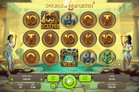 SECRET OF NEFERTITI BOOONGO CASINO SLOTS