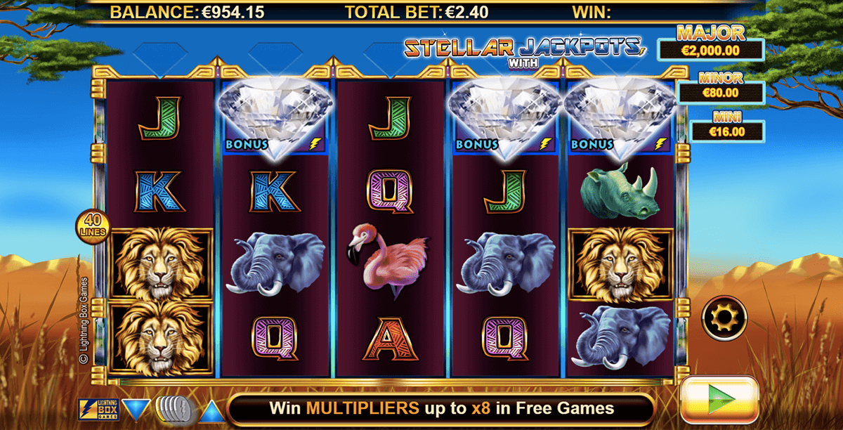 SERENGETI LIONS LIGHTNING BOX CASINO SLOTS