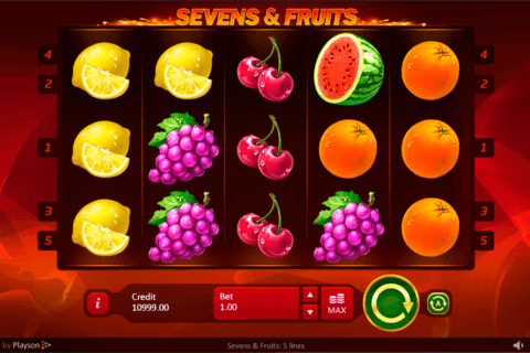 SEVENSFRUITS PLAYSON CASINO SLOTS