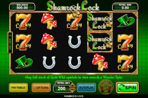 SHAMROCK LOCK INSPIRED GAMING CASINO SLOTS