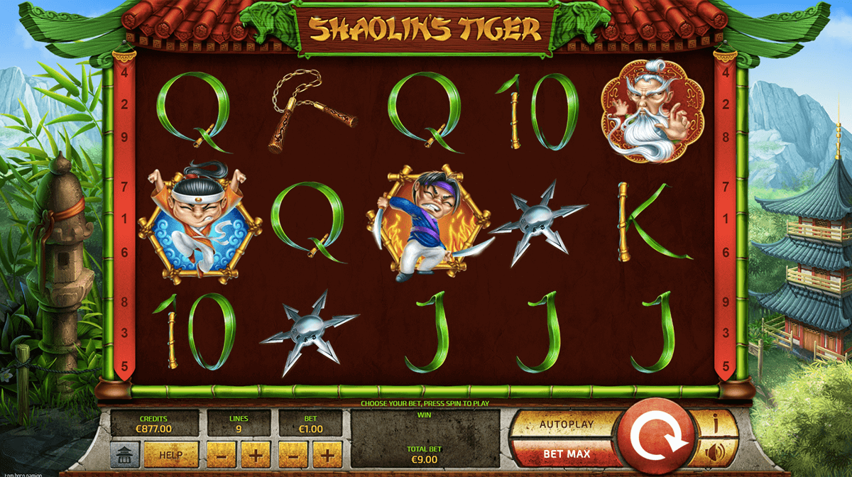 SHAOLINS TIGER TOM HORN CASINO SLOTS