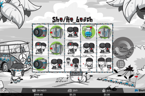 She/He_beach Slot Machine Online ᐈ MrSlotty™ Casino Slots