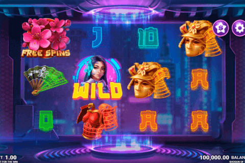 SHOGUN OF TIME JUST FOR THE WIN CASINO SLOTS