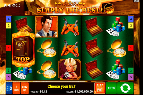 SIMPLY THE BEST RED HOT FIREPOT GAMOMAT CASINO SLOTS