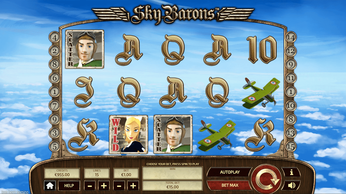 Aircraft Slot - Play the Free Casino Game Online