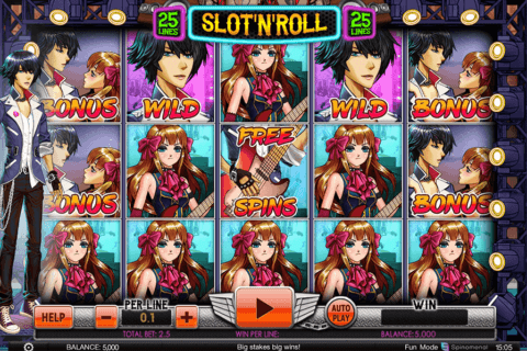 slot and roll spinomenal casino slots
