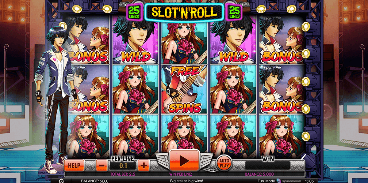 Rock Star™ Slot Machine Game to Play Free in BetSofts Online Casinos