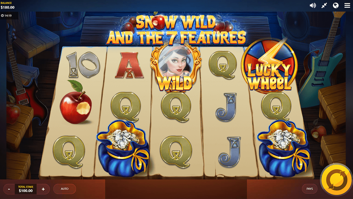 SNOW WILD AND THE 7 FEATURES RED TIGER CASINO SLOTS