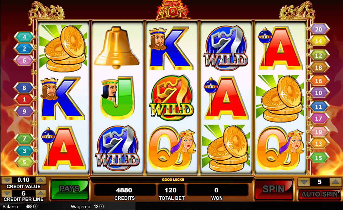 So Hot Slot Machine Online