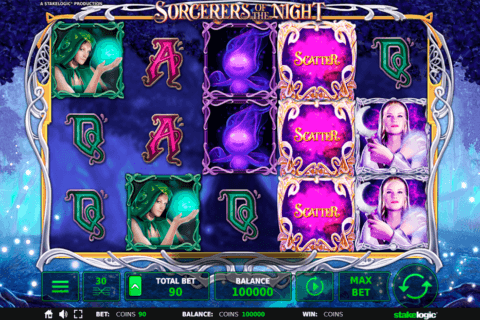 SORCERERS OF THE NIGHT STAKE LOGIC CASINO SLOTS