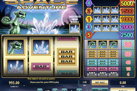 SPACE ADVENTURE TOM HORN CASINO SLOTS