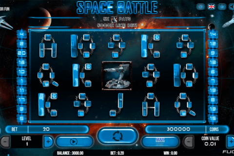 SPACE BATTLE FUGASO CASINO SLOTS