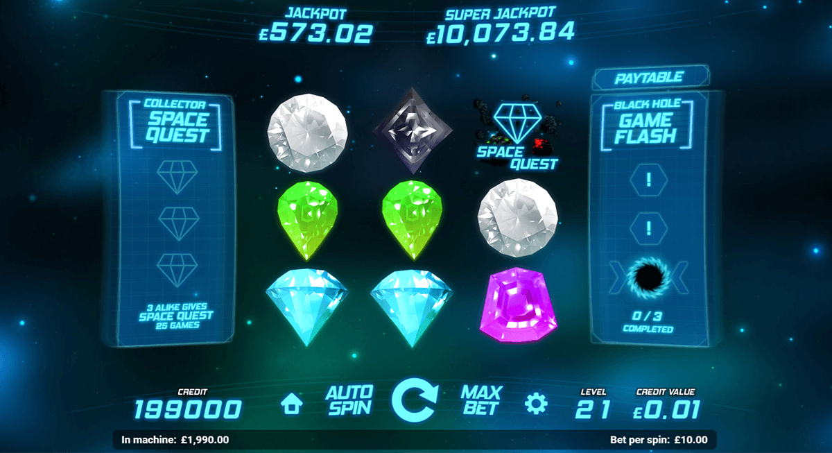 Space Gems Slot - Review & Play this Online Casino Game