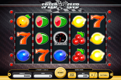 SPEED CLUB KAJOT CASINO SLOTS