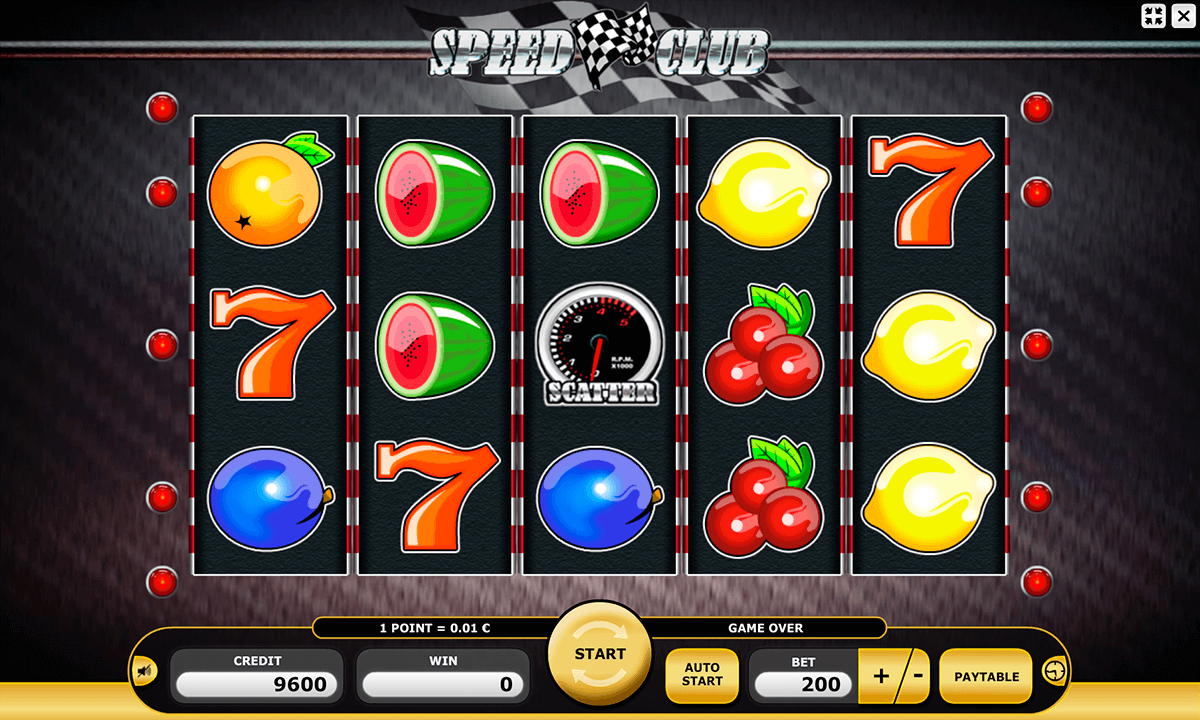 Speed Club Slot Machine Online ᐈ Kajot™ Casino Slots