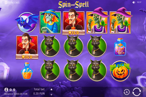 SPIN AND SPELL BGAMING CASINO SLOTS