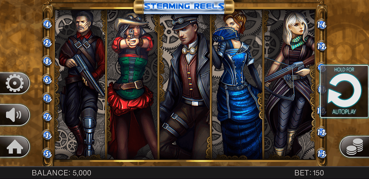 STEAMING REELS SPINOMENAL CASINO SLOTS
