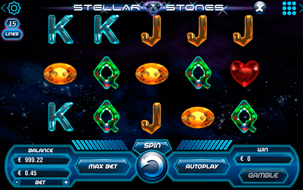 STELLAR STONES BOOMING GAMES CASINO SLOTS