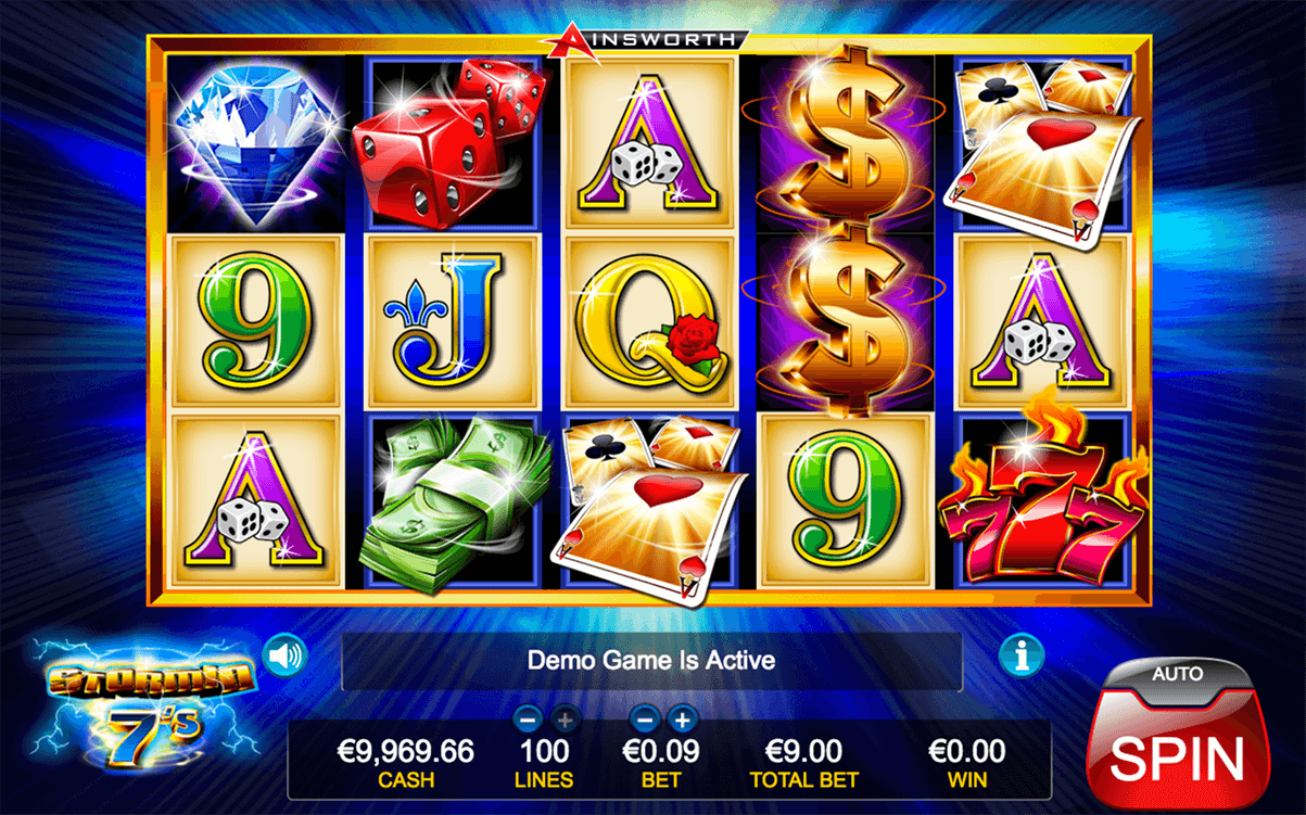 Stormin 7s Slots - Free Slot Machine Game - Play Now