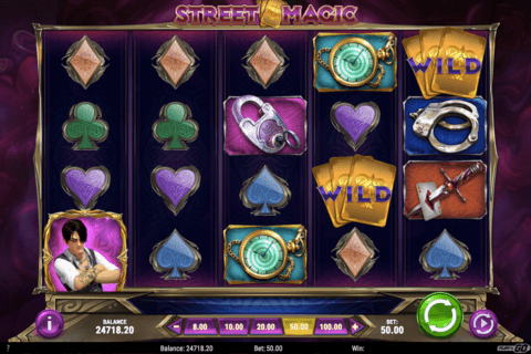 STREET MAGIC PLAYN GO CASINO SLOTS