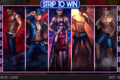 STRIP TO WIN SPINOMENAL CASINO SLOTS