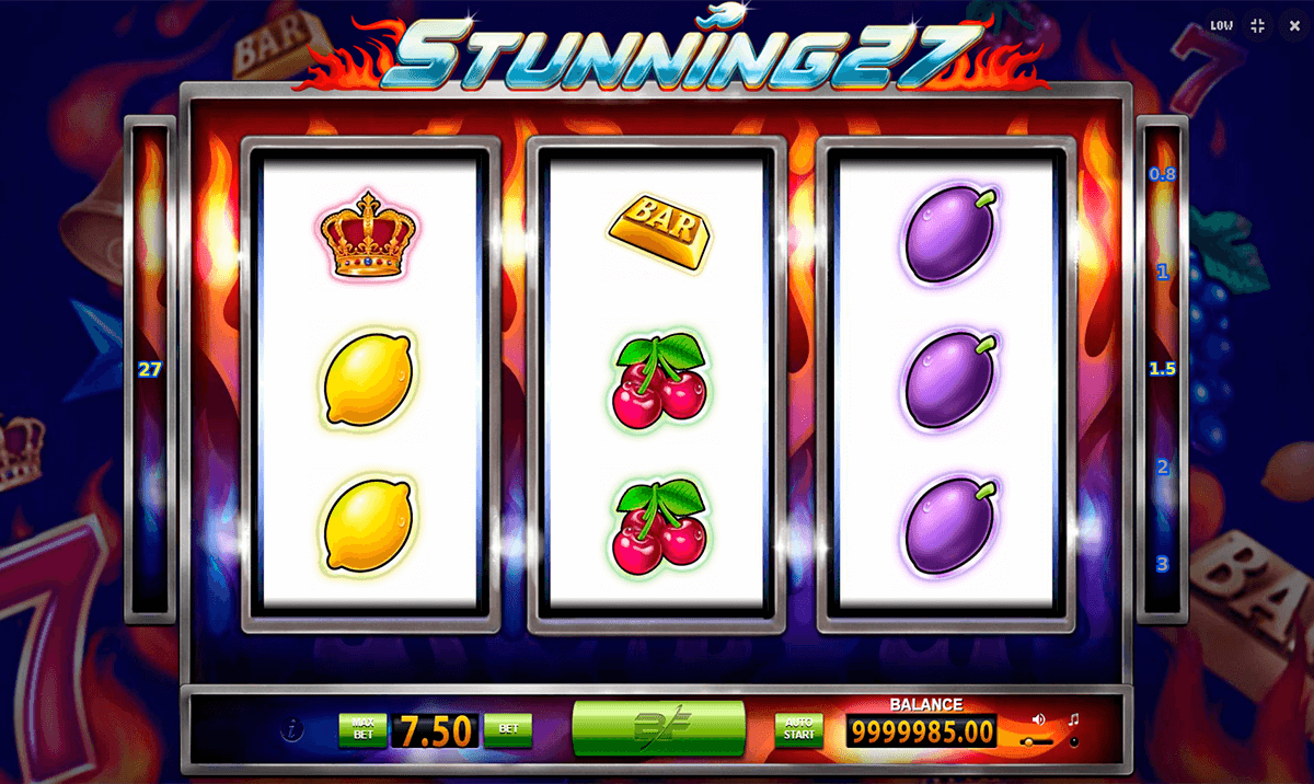 Stunning 27 Slot - Play Free Casino Slot Machine Games